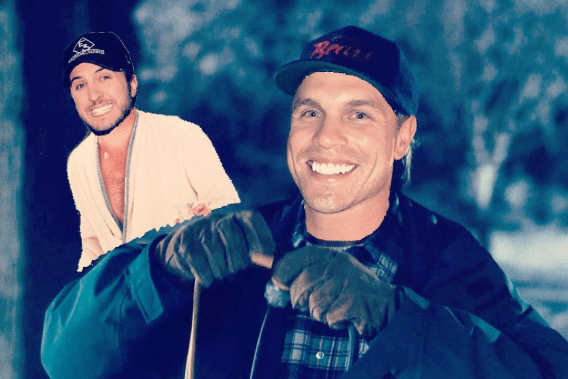 Dustin Lynch watches Christmas Vacation with Luke Bryan?