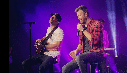 Sam Hunt & Charles Kelley Join Forces for a Swoon-worthy 90's Medley