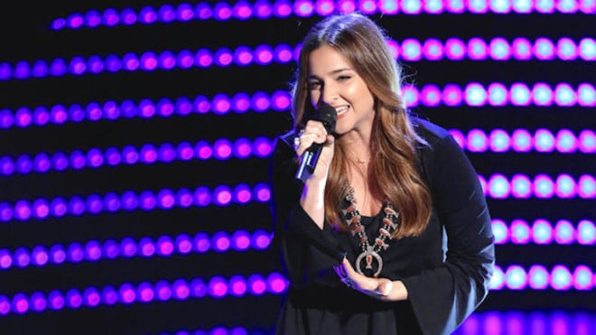 """A Child Star Makes Her Comeback on """"The Voice"""" (Watch!)"""