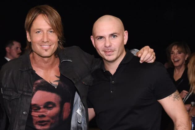 Keith Urban's New Album to Feature Pitbull?!