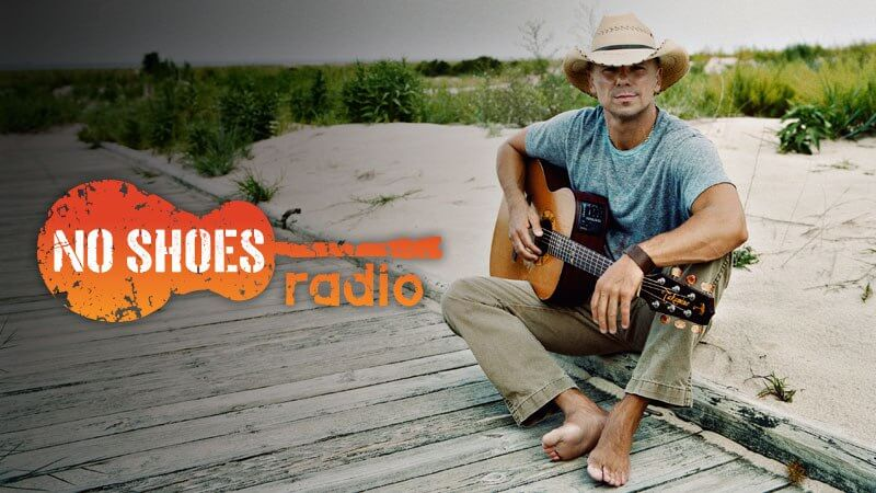 """Read more about the article Kenny Chesney Announces """"No Shoes Radio"""" On SiriusXM"""