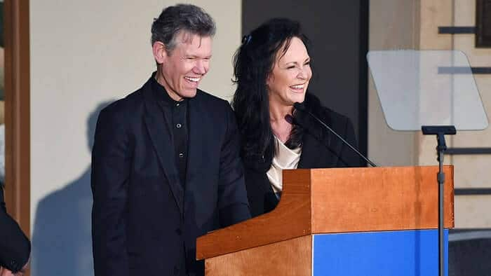 Randy Travis's Wife Beautifully Accepts Hall of Fame Honor On Husband's Behalf