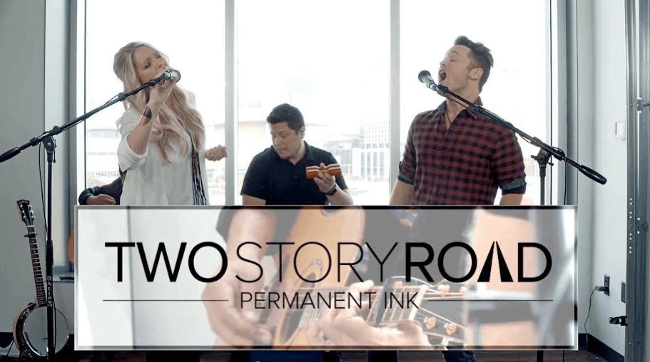 """Read more about the article Exclusive Premiere: Watch Two Story Road's """"Permanent Ink"""" Acoustic Video"""