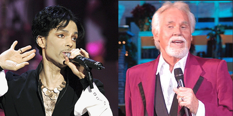 Read more about the article Prince Secretly Wrote a Song for… Kenny Rogers?
