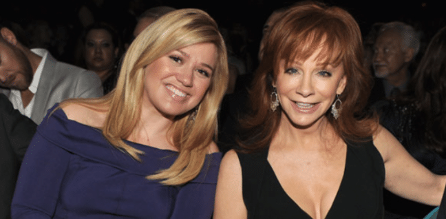 Reba is All Smiles When it Comes to Kelly Clarkson's Babies