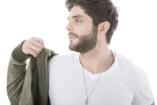 "Thomas Rhett performing on ""The Voice"" tonight"