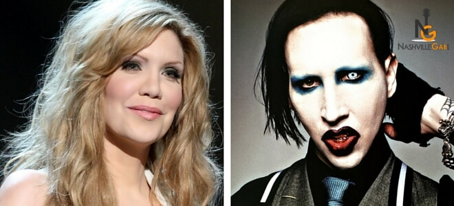 Read more about the article APRIL FOOLS!!! Marilyn Manson To Join Alison Krauss For Crossroads Event