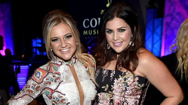 Kelsea Ballerini jams out to a Lady Antebellum song
