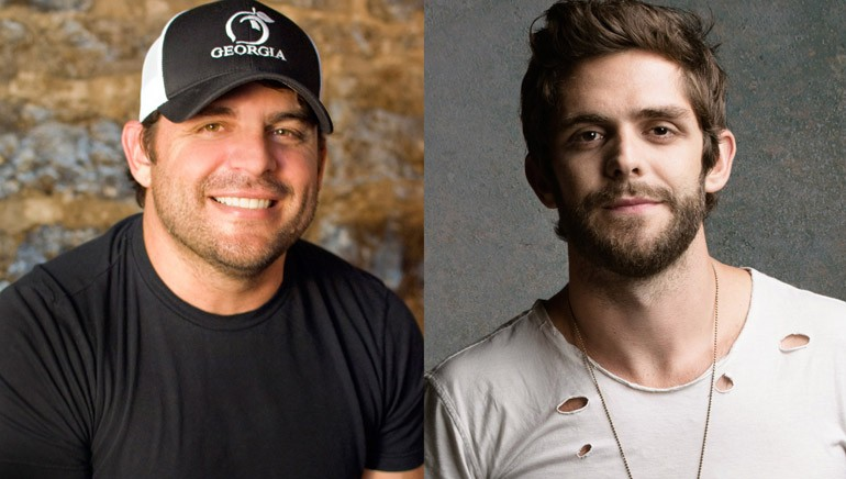Thomas Rhett & Rhett Akins Prove the Apple Doesn't Fall Far From the Tree