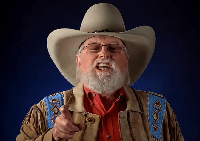 Read more about the article Charlie Daniels threatens terrorists with gator-wrestling American patriots in new NRA commercial