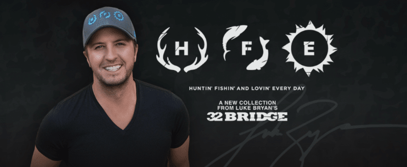 Read more about the article Win with Gab: Win a t-shirt or hat from Luke Bryan's new Cabela's line