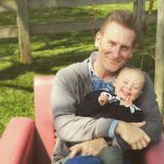 Rory Feek and his sweet daughter Indiana