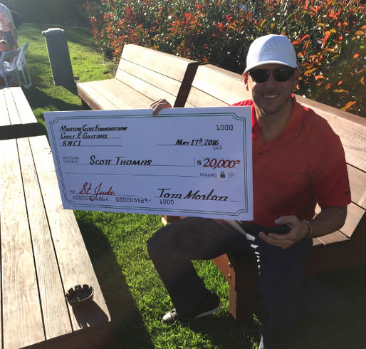 Read more about the article Parmalee's drummer wins big for St. Jude