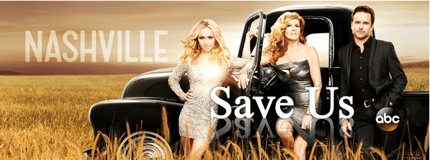 You can now sign a petition to try and help save 'Nashville'