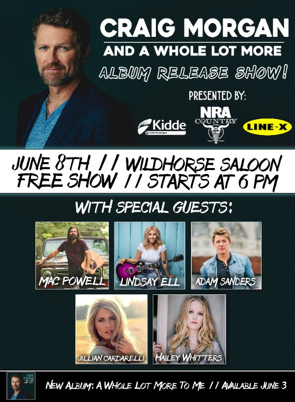 Craig Morgan album release party