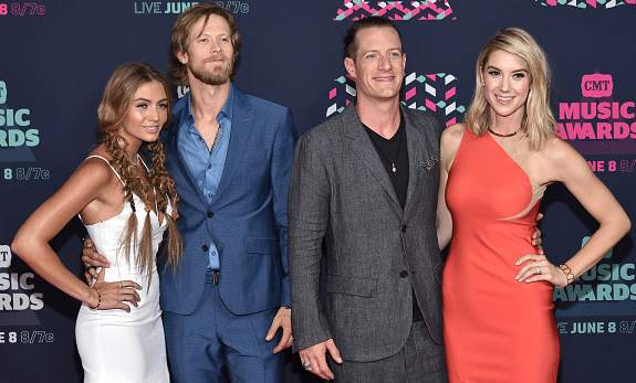 Florida Georgia Line and their wives hit the CMT Music Awards red carpet