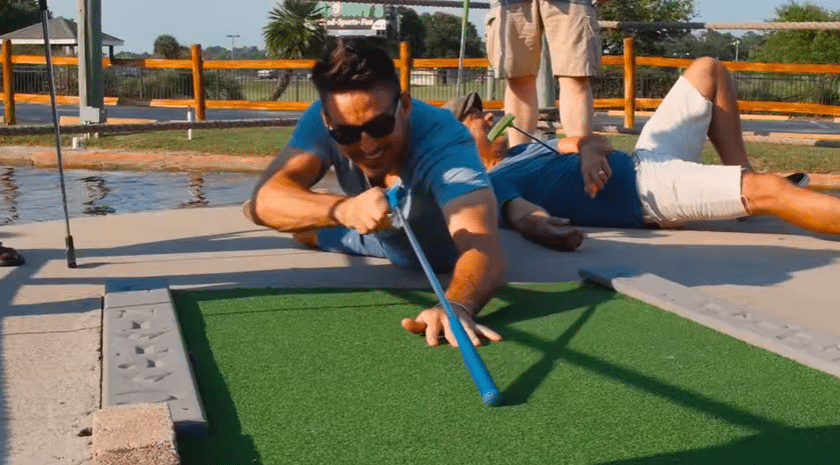 Jake Owen rapping about putt-putt golf is the best thing you'll see today
