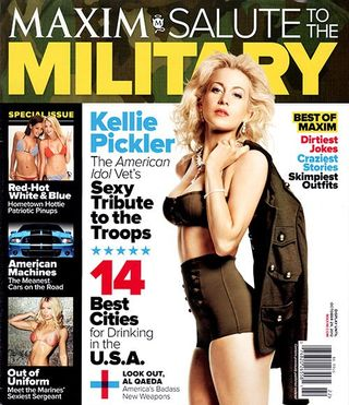 Read more about the article Go behind the scenes of Kellie Pickler's Maxim photo shoot (video)