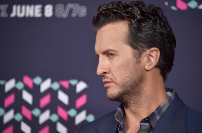 Luke Bryan has suspicious eyes on the 2016 CMT Music Awards red carpet