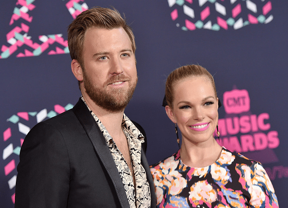 Charles Kelley and wife, Cassie, hit the CMT Awards red carpet