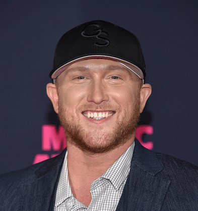 Cole Swindell on the CMT Music Awards red carpet