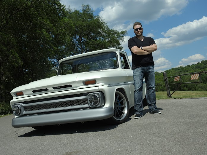 James Otto is hitting the road in his grandad's pickup