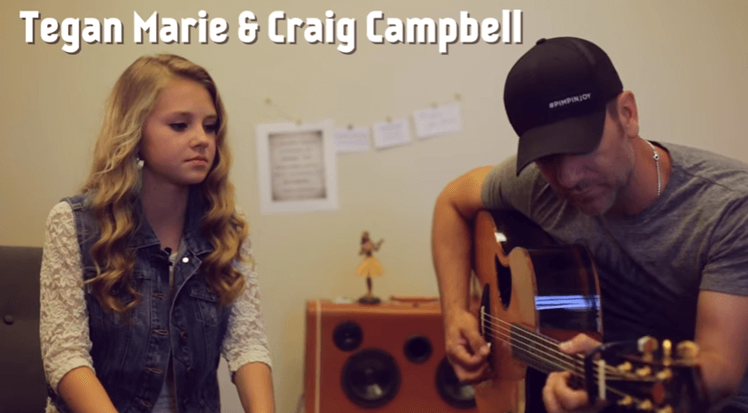 Your adorableness of the day: Craig Campbell duets with YouTuber (and future superstar) Tegan Marie