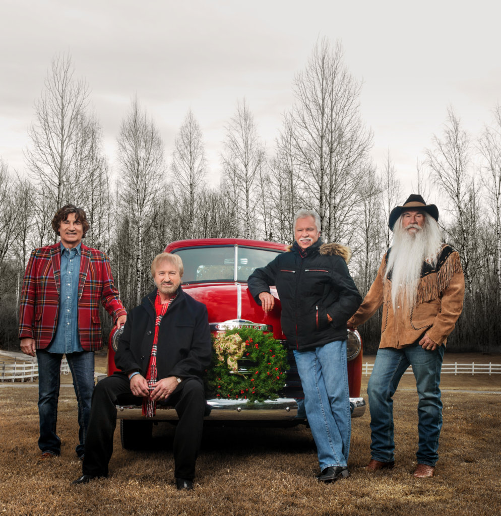 The Oak Ridge Boys announce their 2016 Christmas Celebration tour