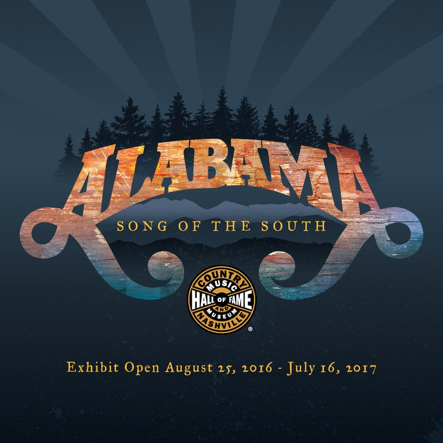 New Alabama exhibit to open at Country Music Hall of Fame tomorrow, 8/25