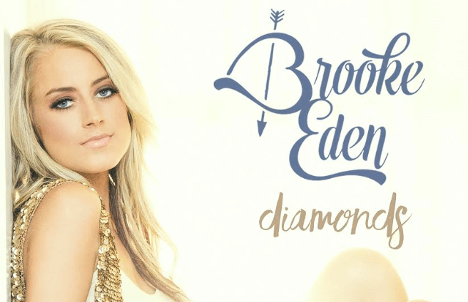"""Read more about the article Brooke Eden Shines With New Single """"Diamonds"""" (Listen!)"""