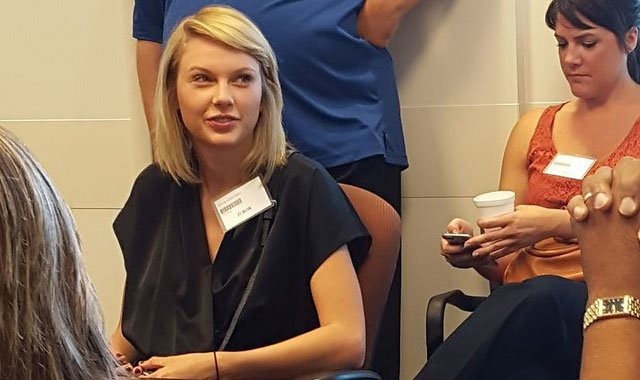 Taylor Swift reports for and then is dismissed from jury duty