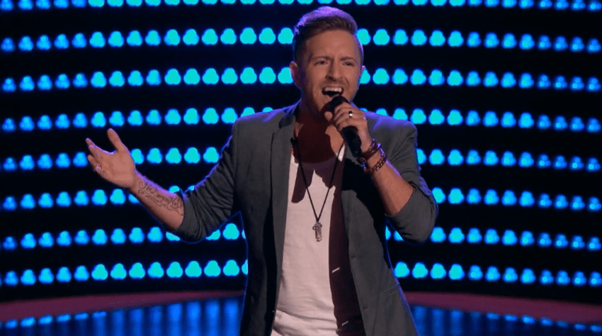 """Read more about the article You'll probably never guess what team Billy Gilman joined on """"The Voice"""""""