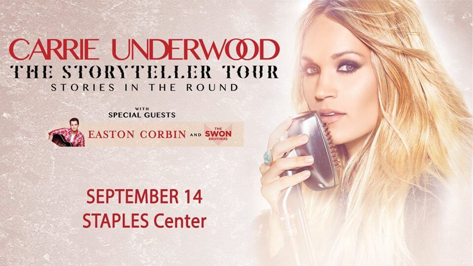 Security demands proof fan is a woman in bathroom at Carrie Underwood concert