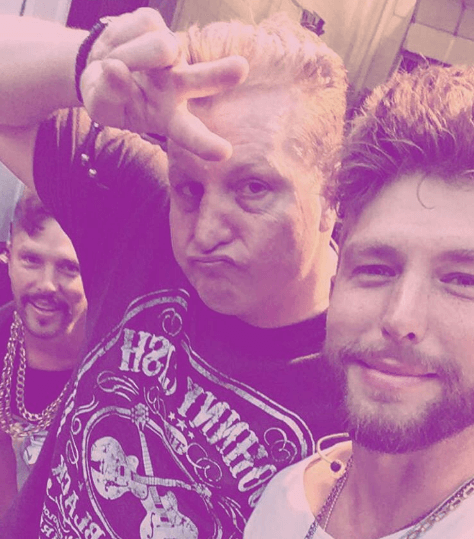 Chris Lane reveals the secret to Gary LeVox's hair – moose semen