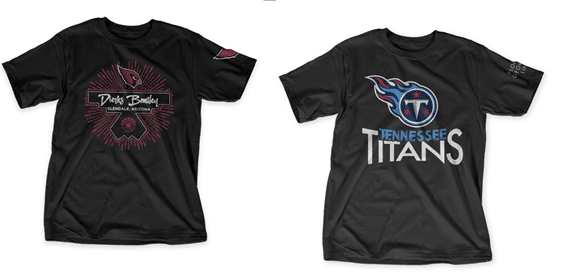 Read more about the article Dierks Bentley and Florida Georgia Line create NFL team shirts