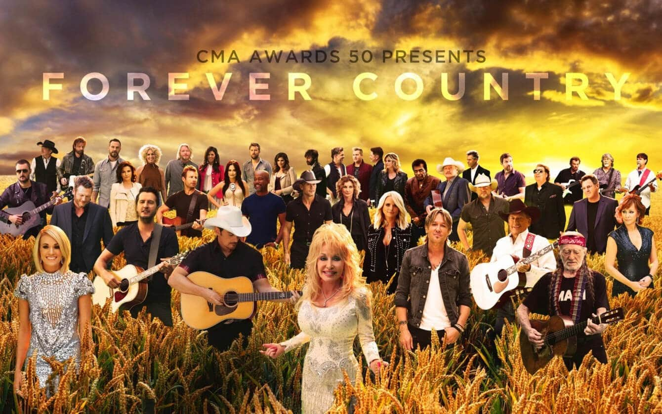 Just in! Check out the new music video for 'Forever Country'