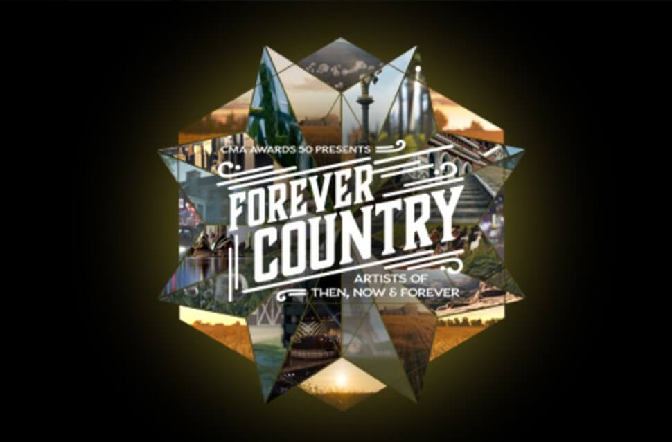 "The Country Music Association Celebrate's 50 years with ""Forever Country"""