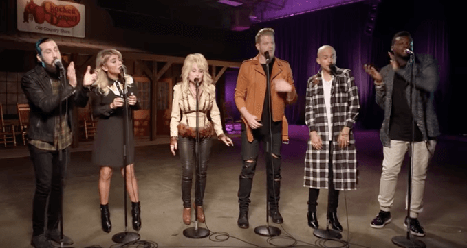 "Dolly Parton & Pentatonix Join Forces on A Capella Version of ""Jolene"""