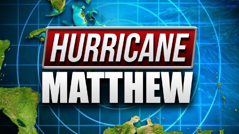 Hurricane Matthew forces three country concert cancellations this week