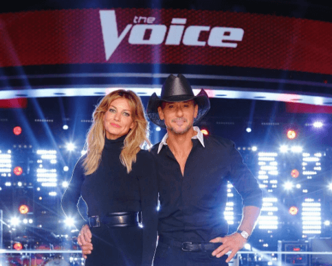 "Tim McGraw and Faith Hill head to ""The Voice"" as advisers"