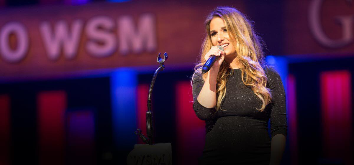 Jessie James Decker Debuts New Song at The Opry