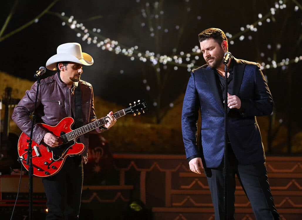 Gab's Countdown to Christmas: Chris Young and Brad Paisley