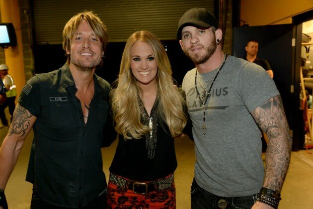 Brantley Gilbert Credits Keith Urban with Saving His Life