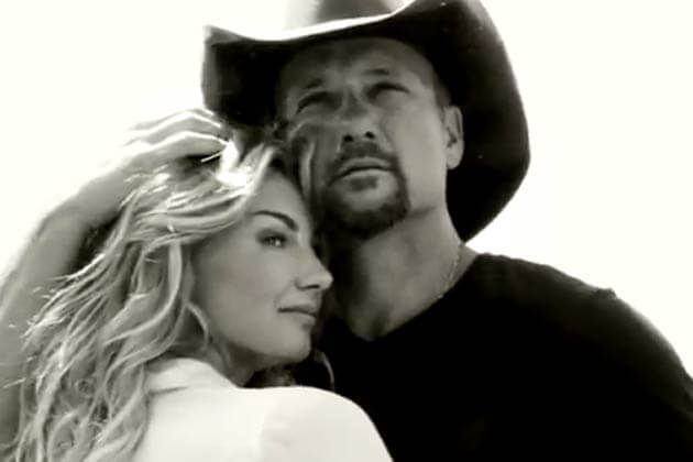 Tim McGraw and Faith Hill Sign with Sony Music Entertainment