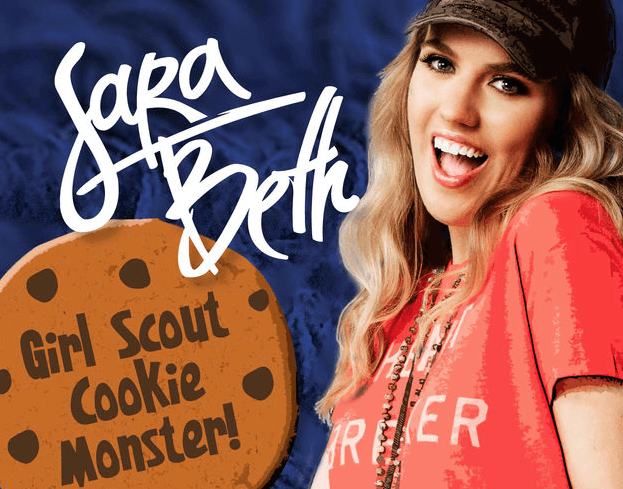 SaraBeth Gets the World Ready for Girl Scout Cookie Season