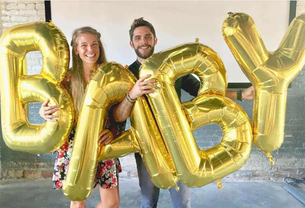 Thomas Rhett & Lauren Akins Share Baby Gender Reveal Moment