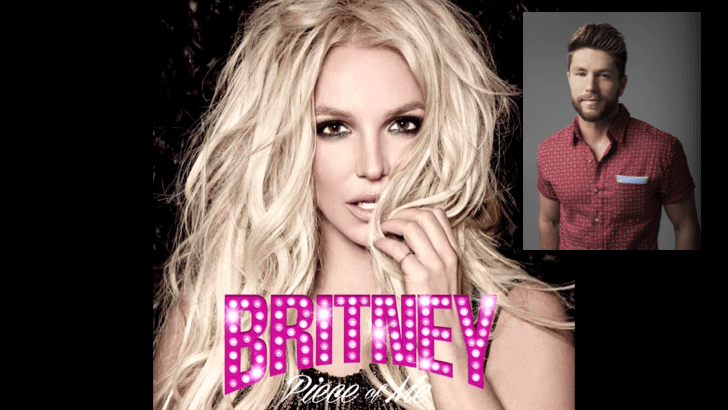 Chris Lane gets his Fix at Britney Spears Show