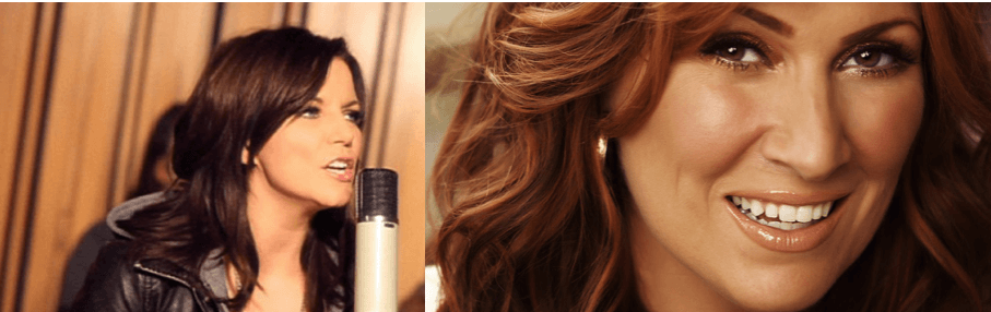 Martina McBride and JoDee Messina have some fun on Twitter