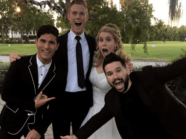 Dan + Shay: Wedding Crashers?