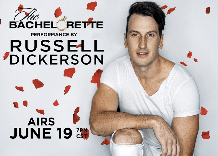 "Russell Dickerson is Bringing ""Yours"" to ""The Bachelorette"""